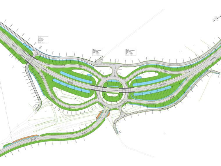 Autobahnplanung bei  Ingenieurbüro Bulhões in Taufkirchen